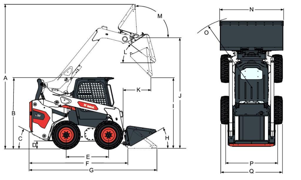 S76 размери